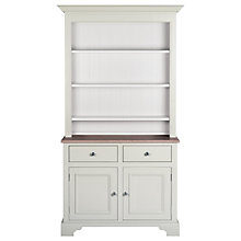 "Buy Neptune Chichester 3ft 6"" Open Rack Dresser, Shingle Online at johnlewis.com"