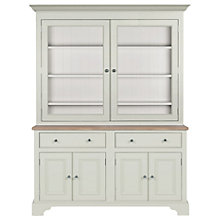 Buy Neptune Chichester 5ft Glazed Rack Dresser, Shingle Online at johnlewis.com