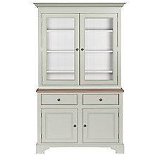 Buy Neptune Chichester 4ft Glazed Rack Dresser, Shingle Online at johnlewis.com
