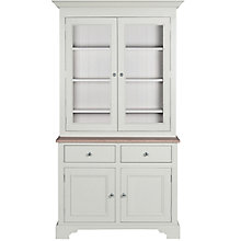 "Buy Neptune Chichester 3ft 6"" Glazed Rack Dresser, Shingle Online at johnlewis.com"