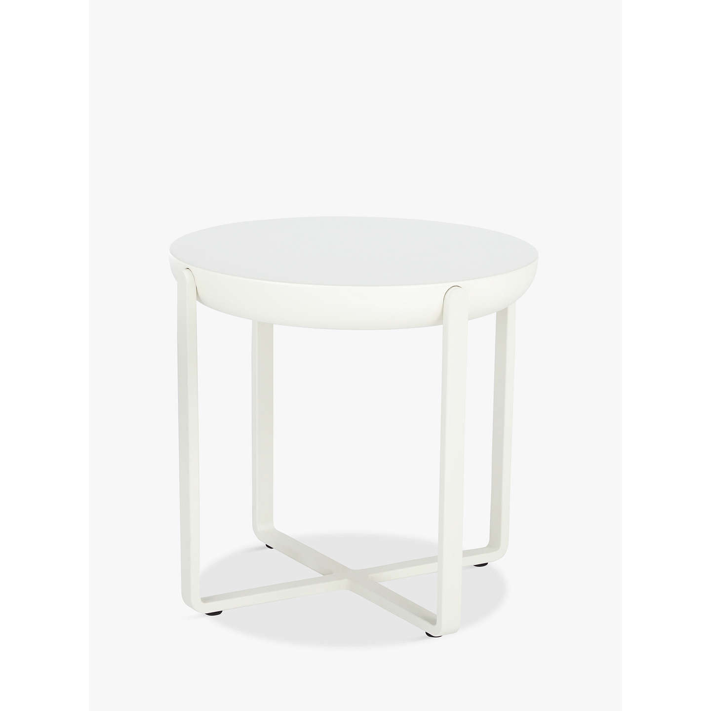 Doshi Levien For John Lewis Open Home Ballet Round Side Table At Johnlewis Com