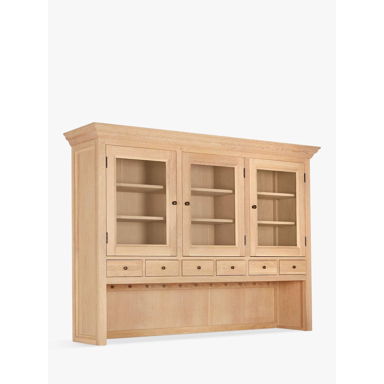 John Lewis Wickham Large Sideboard Dresser Top Oak Online At Johnlewis