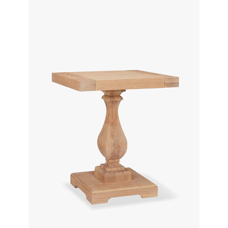 John Lewis Wickham Pedestal Side Table At Johnlewis Com