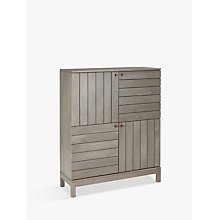 Buy John Lewis Asha Tall Four Door Cabinet Online at johnlewis.com