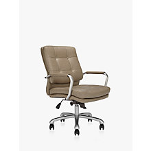 Buy John Lewis Gramercy Office Chair, Lead Grey Online at johnlewis.com