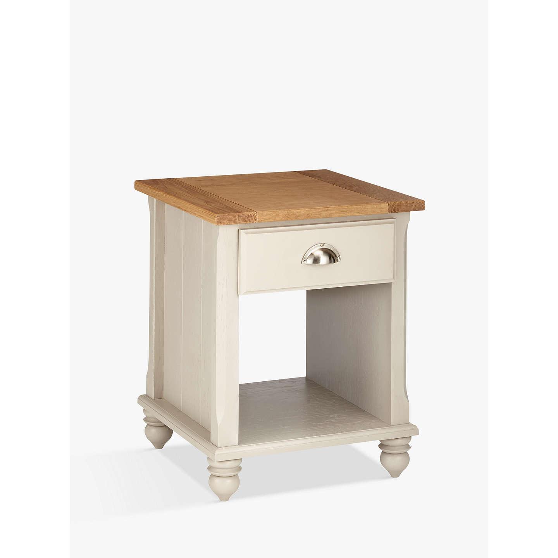 john lewis audley side table soft grey at john lewis. Black Bedroom Furniture Sets. Home Design Ideas