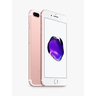 Image of Apple iPhone 7 Plus, iOS 10, 5.5, 4G LTE, SIM Free, 32GB