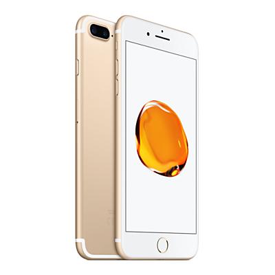 Image of Apple iPhone 7 Plus, iOS 10, 5.5, 4G LTE, SIM Free, 128GB
