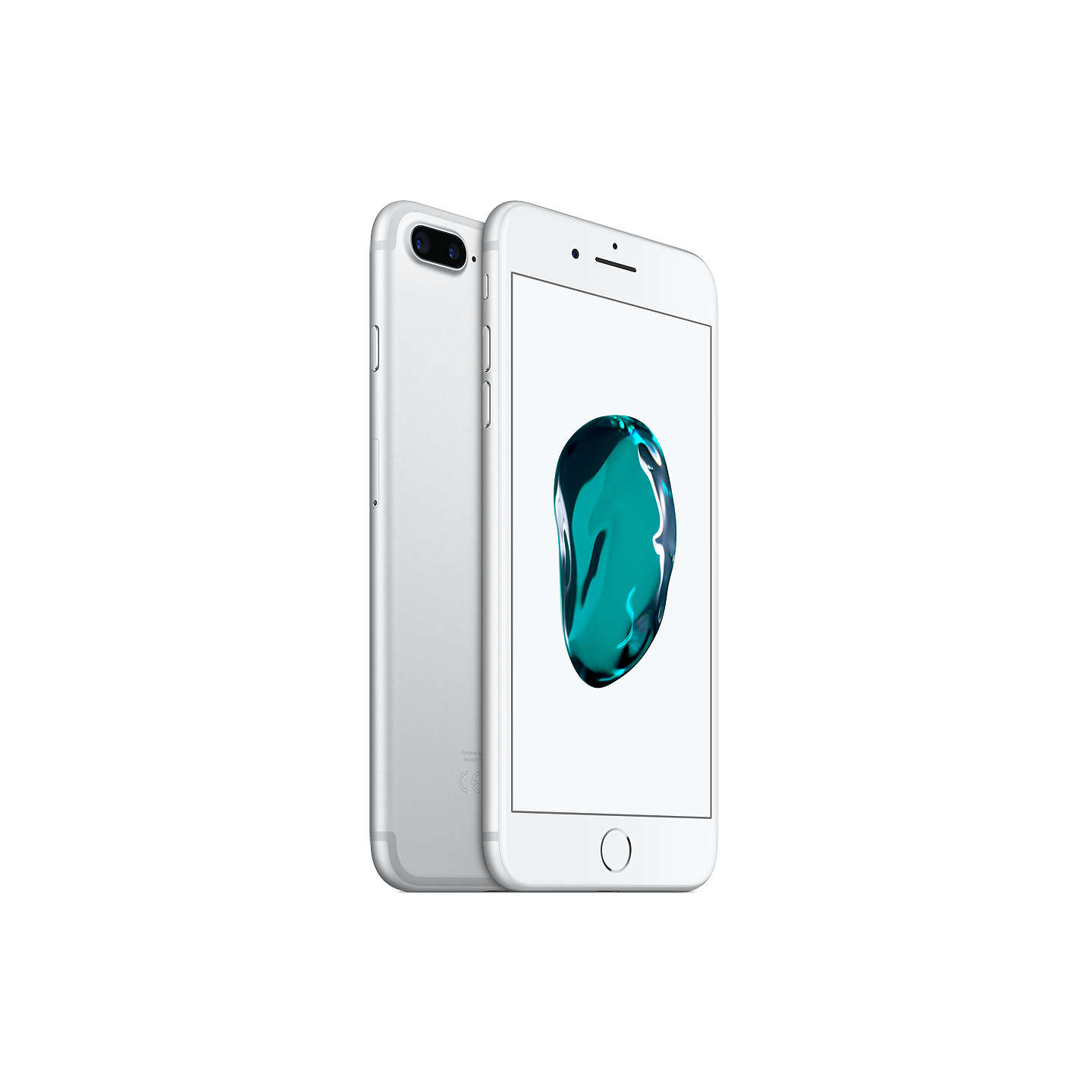 "BuyApple iPhone 7 Plus, iOS 10, 5.5"", 4G LTE, SIM Free, 32GB, Silver Online at johnlewis.com"