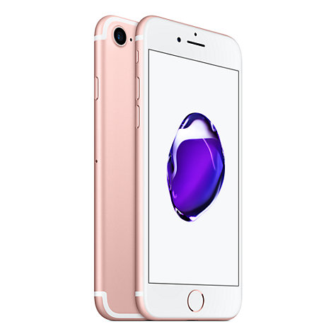 "Buy Apple iPhone 7, iOS 10, 4.7"", 4G LTE, SIM Free, 128GB Online at johnlewis.com"