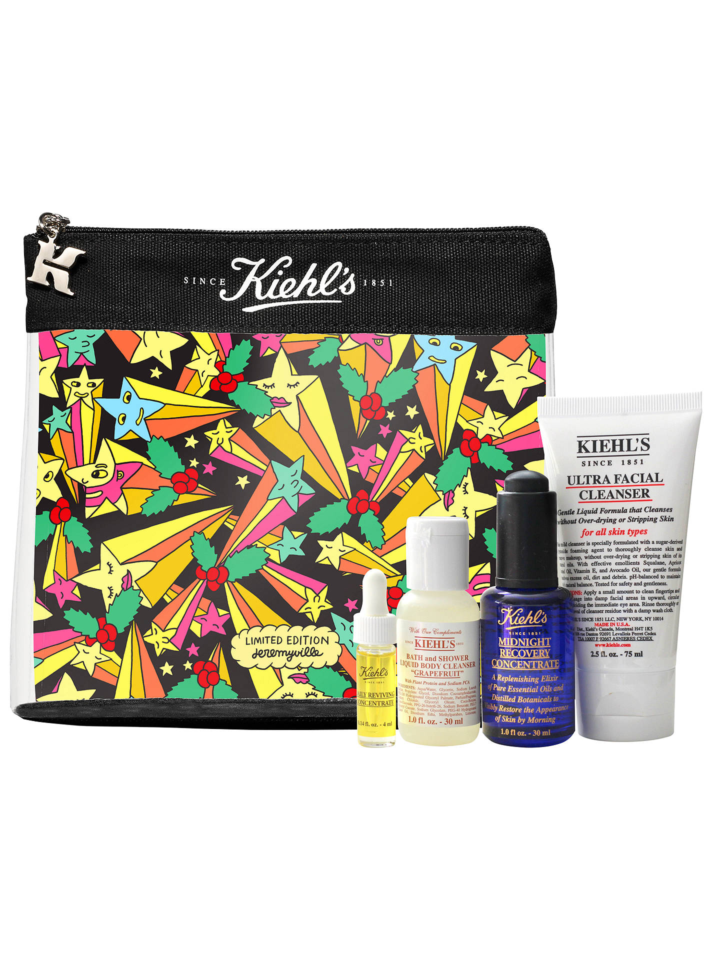 BuyKiehl's Jeremyville Limited Edition Skincare Gift Set Online at johnlewis.com