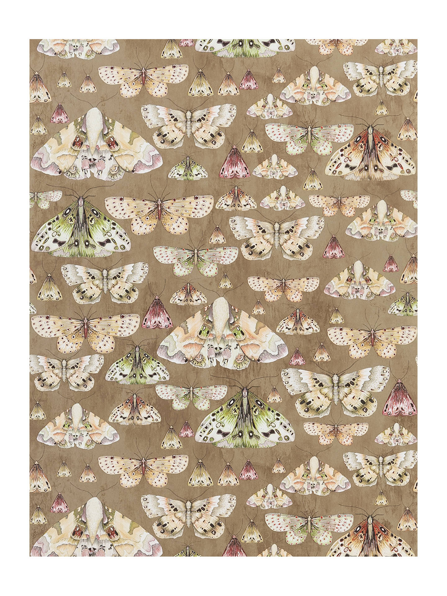 Buy Designers Guild Jardin des Plantes Issoria Paste the Wall Wallpaper, Gold PDG713/06 Online at johnlewis.com