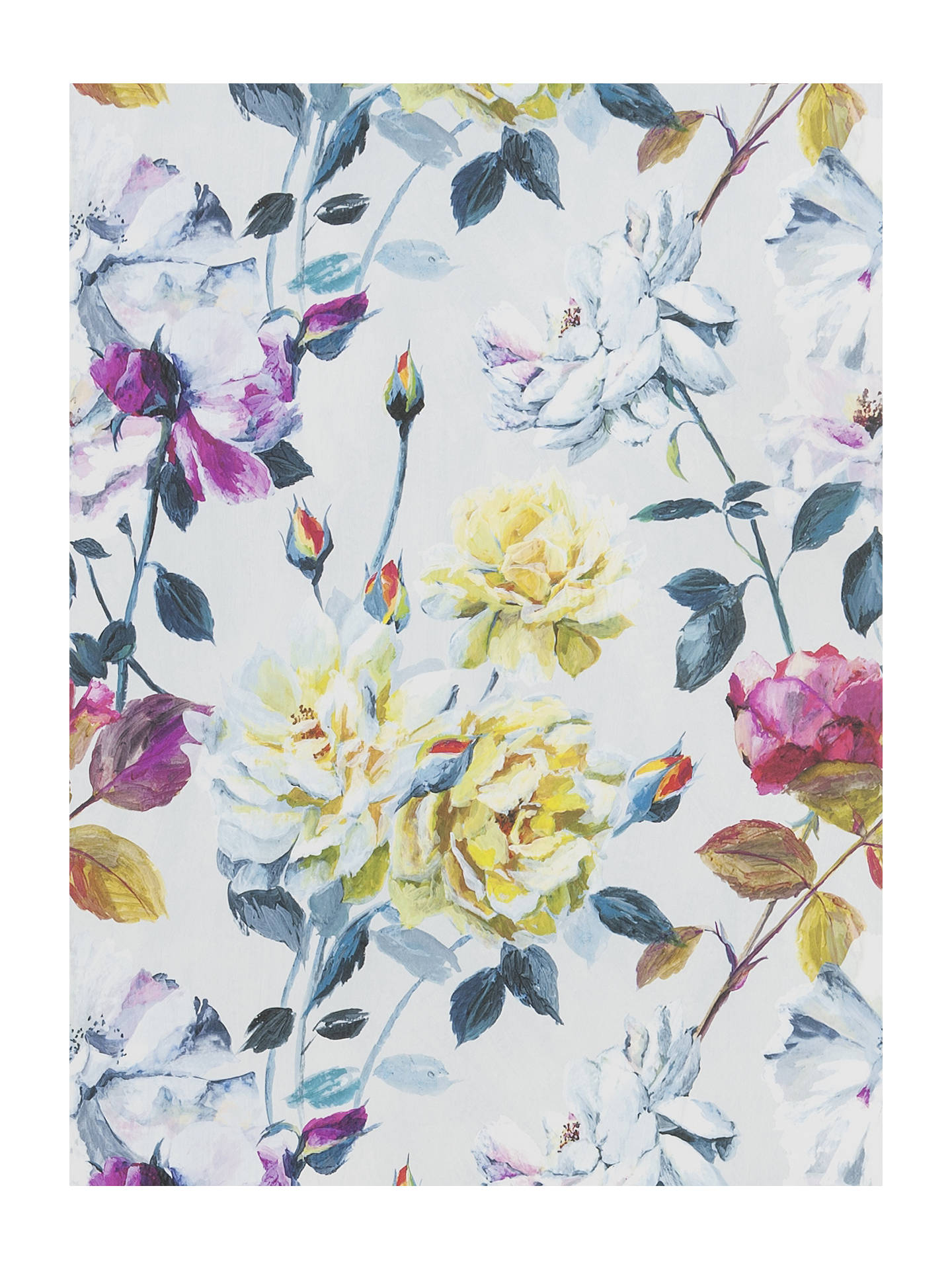 BuyDesigners Guild Jardin Des Plantes Couture Rose Paste The Wall Wallpaper Fuchsia PDG711 01