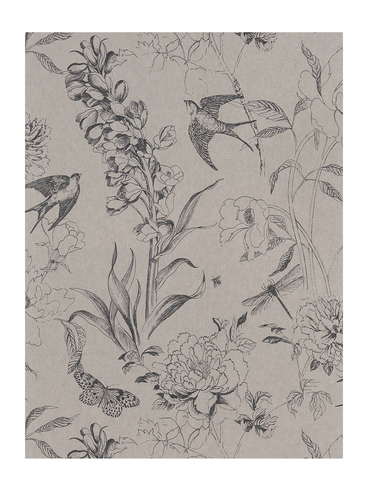 Buy Designers Guild Jardin des Plantes Sibylla Paste the Wall Wallpaper, Birch PDG714/01 Online at johnlewis.com