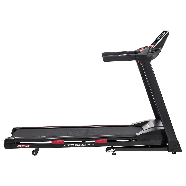 Gym Equipment John Lewis: KETTLER Sport Arena Treadmill, Black/Red At John Lewis