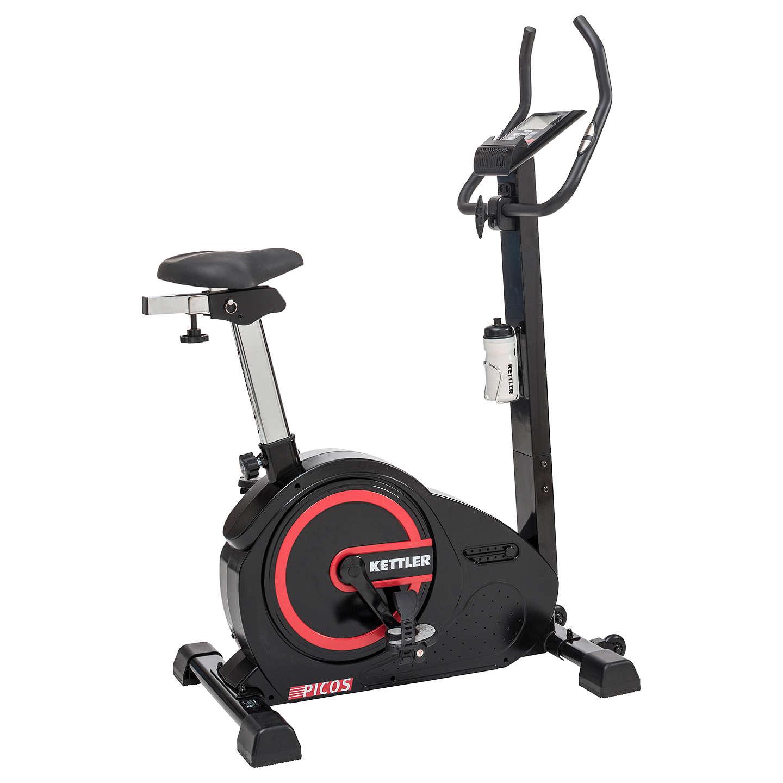 Gym Equipment John Lewis: KETTLER Sport Picos Exercise Bike, Black/Red At John Lewis