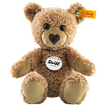 Buy Steiff Cosy Teddy Bear, Reddish/Blond, 16cm Online at johnlewis.com