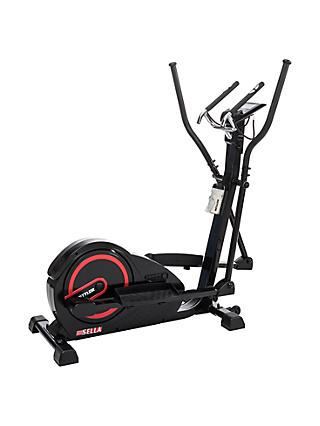 KETTLER Sport Sella Cross Trainer, Black/Red
