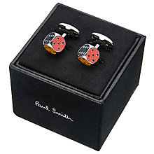 Buy Paul Smith Dice Cufflinks, Silver/Multi Online at johnlewis.com
