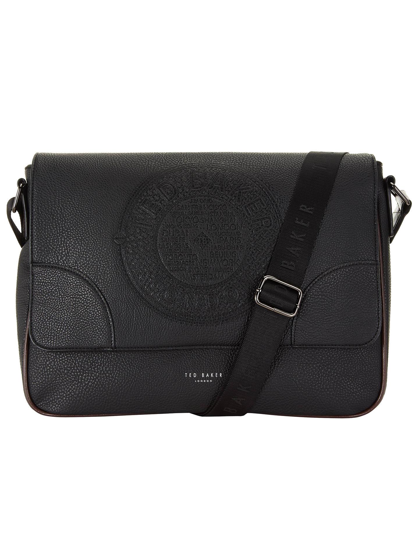 a1d1ee55af12 Buy Ted Baker Bigboss Embossed Dispatch Bag