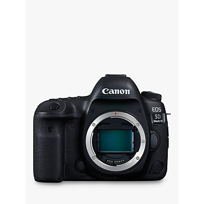 Canon EOS 5D MK IV Digital SLR Camera, 4K Ultra HD, 30.4MP, Wi-Fi, NFC, 3.2 LCD Screen, Body Only