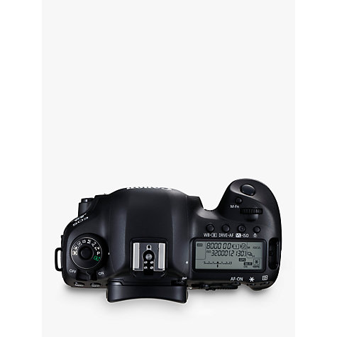 "Buy Canon EOS 5D MK IV Digital SLR Camera, 4K Ultra HD, 30.4MP, Wi-Fi, NFC, 3.2"" LCD Screen, Body Only Online at johnlewis.com"