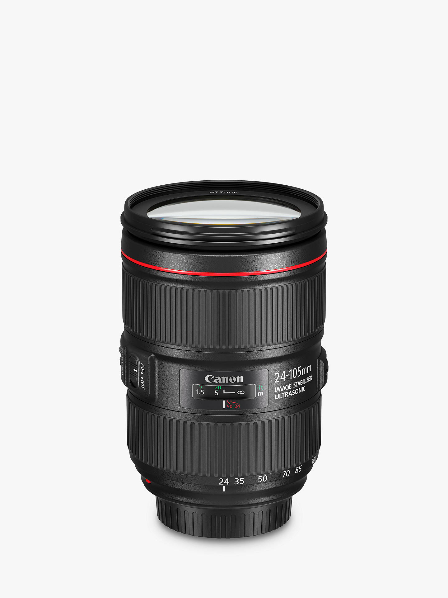 Buy Canon EF 24-105mm f/4L IS II USM Standard Zoom Lens Online at johnlewis.com