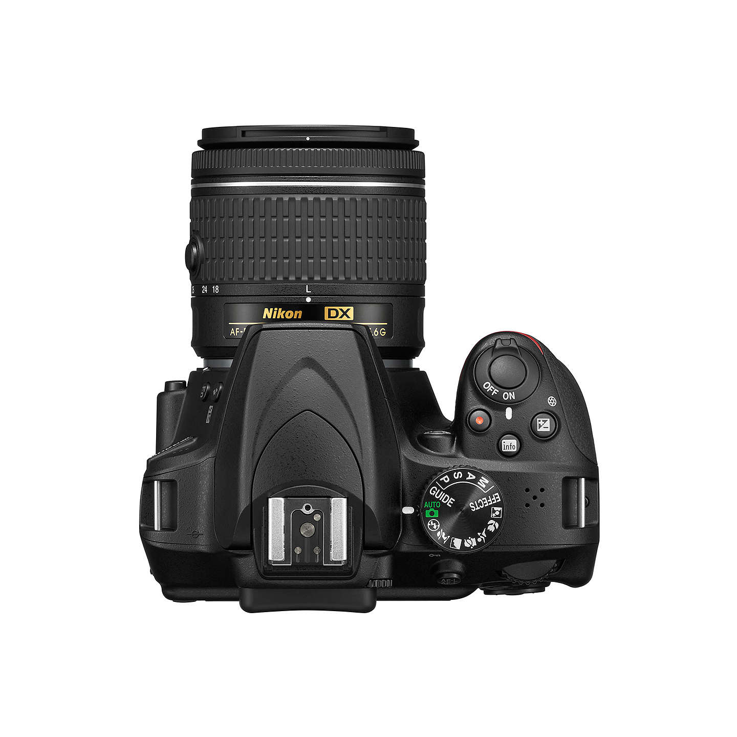 "BuyNikon D3400 Digital SLR Camera with 18-55mm Lens, HD 1080p, 24.2MP, Optical ViewFinder, 3"" LCD Monitor, Black Online at johnlewis.com"
