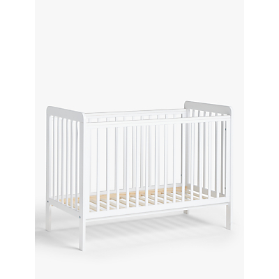 John Lewis & Partners Alex Cot, Solid White