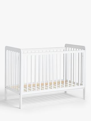 Alex Cot & Cotbed Bundle, White
