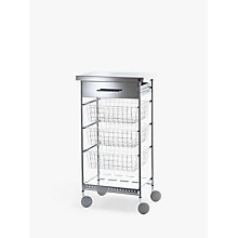 Buy Hahn Afinity Steel Butcher's Trolley Online at johnlewis.com