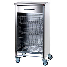 Buy Hahn Stainless Steel Cook Butcher's Trolley Online at johnlewis.com