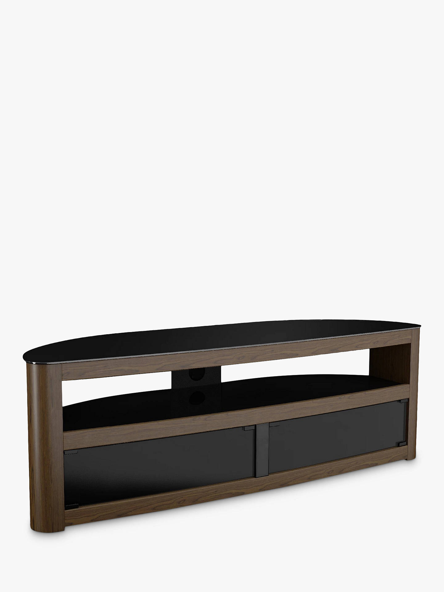 "Buy AVF Affinity Premium Burghley 1500 TV Stand For TVs Up To 70"", Walnut Online at johnlewis.com"