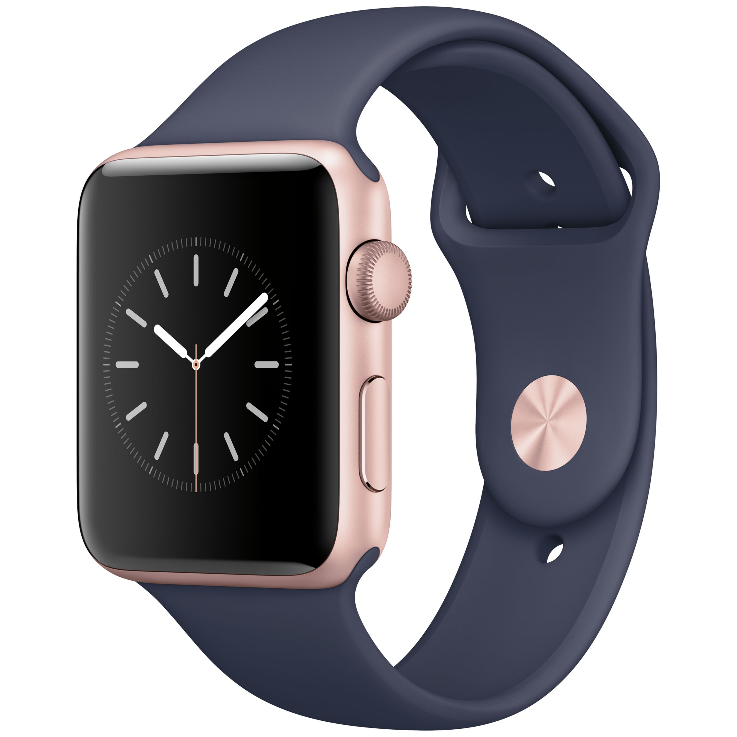 Series 2 midnight blue and rose gold