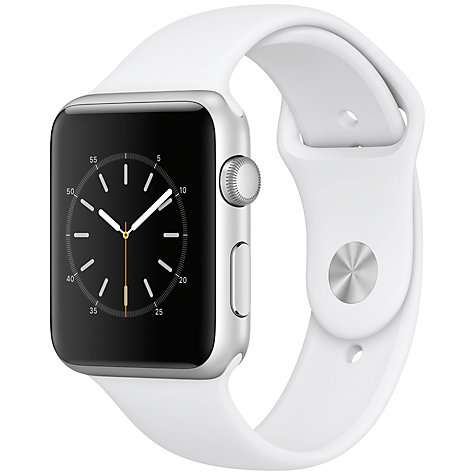 Buy Apple Watch Series 1, 42mm Silver Aluminium Case with