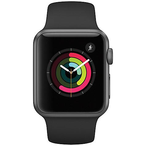 Buy Apple Watch Series 1, 38mm Space Grey Aluminium Case ...