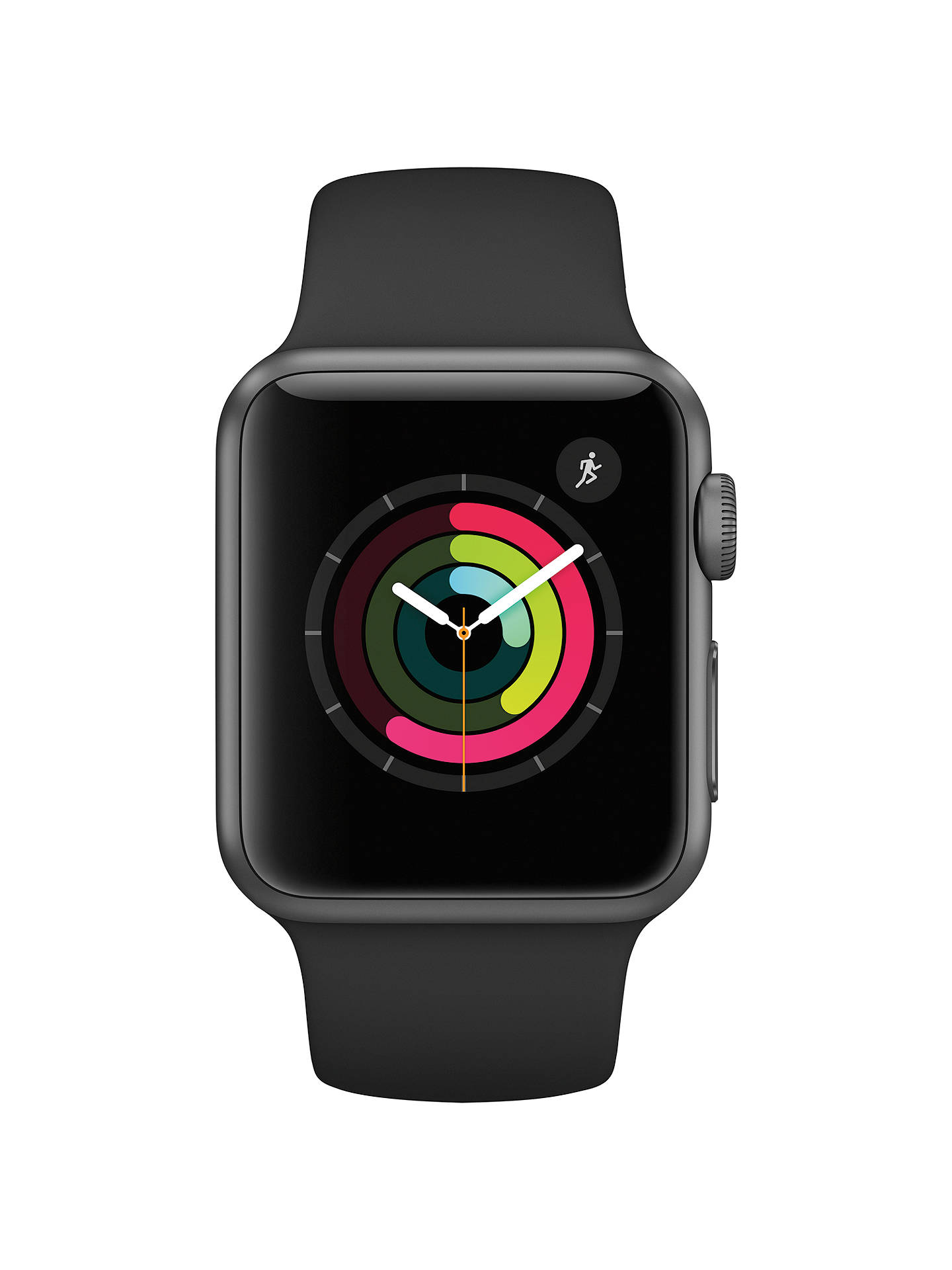 Apple Watch Series 1, 38mm Space Grey Aluminium Case with