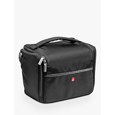 Manfrotto Advanced A7 Camera Shoulder Bag for DSLRs, Black