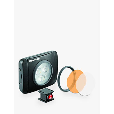 manfrotto lumimuse multipurpose led photography light, black