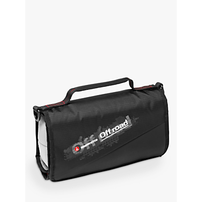 Manfrotto Off Road Stunt Roll Organiser for Action Cameras, Black