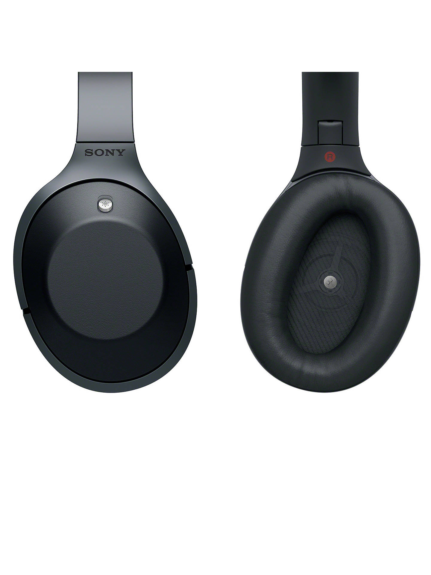 Buy Sony MDR-1000X Noise Cancelling Wireless Bluetooth NFC High-Resolution Audio Over-Ear Headphones with Mic/Remote, Black Online at johnlewis.com