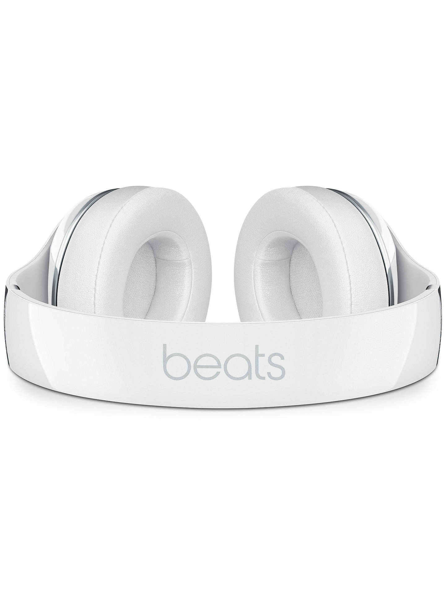 Buy Beats Studio Wireless Noise Cancelling Bluetooth Over-Ear Headphones with Mic/Remote, Gloss White Online at johnlewis.com