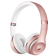 Buy Beats™ by Dr. Dre™ Solo 3 Wireless On-Ear Headphones with Bluetooth Online at johnlewis.com