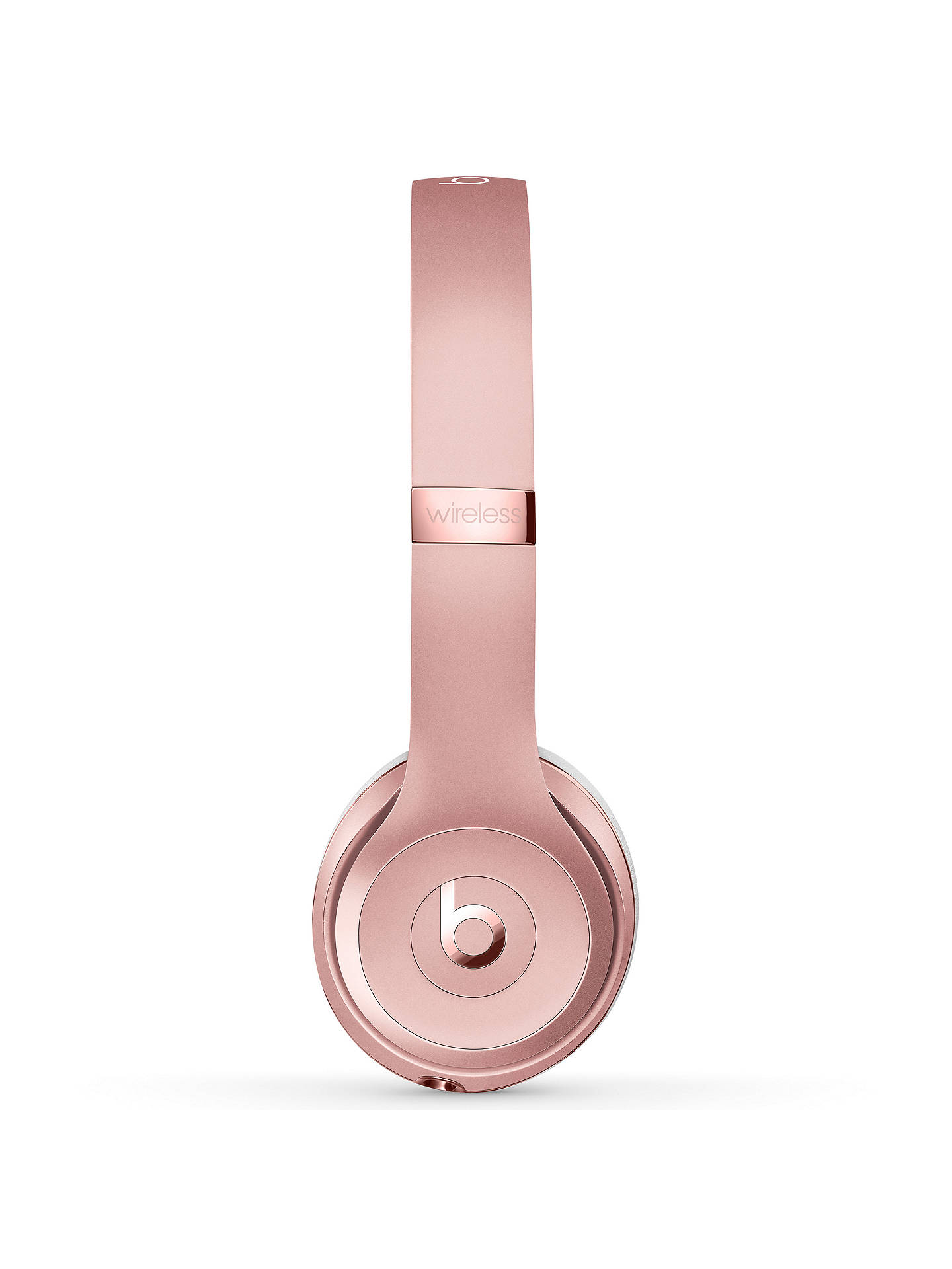 BuyBeats Solo³ Wireless Bluetooth On-Ear Headphones with Mic/Remote, Rose Gold Online at johnlewis.com