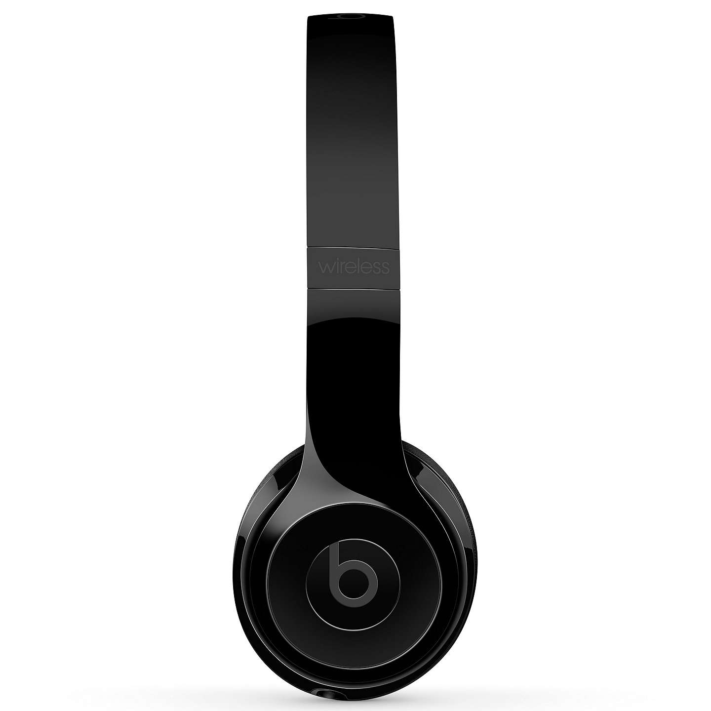 BuyBeats Solo³ Wireless Bluetooth On-Ear Headphones with Mic/Remote, Gloss Black Online at johnlewis.com