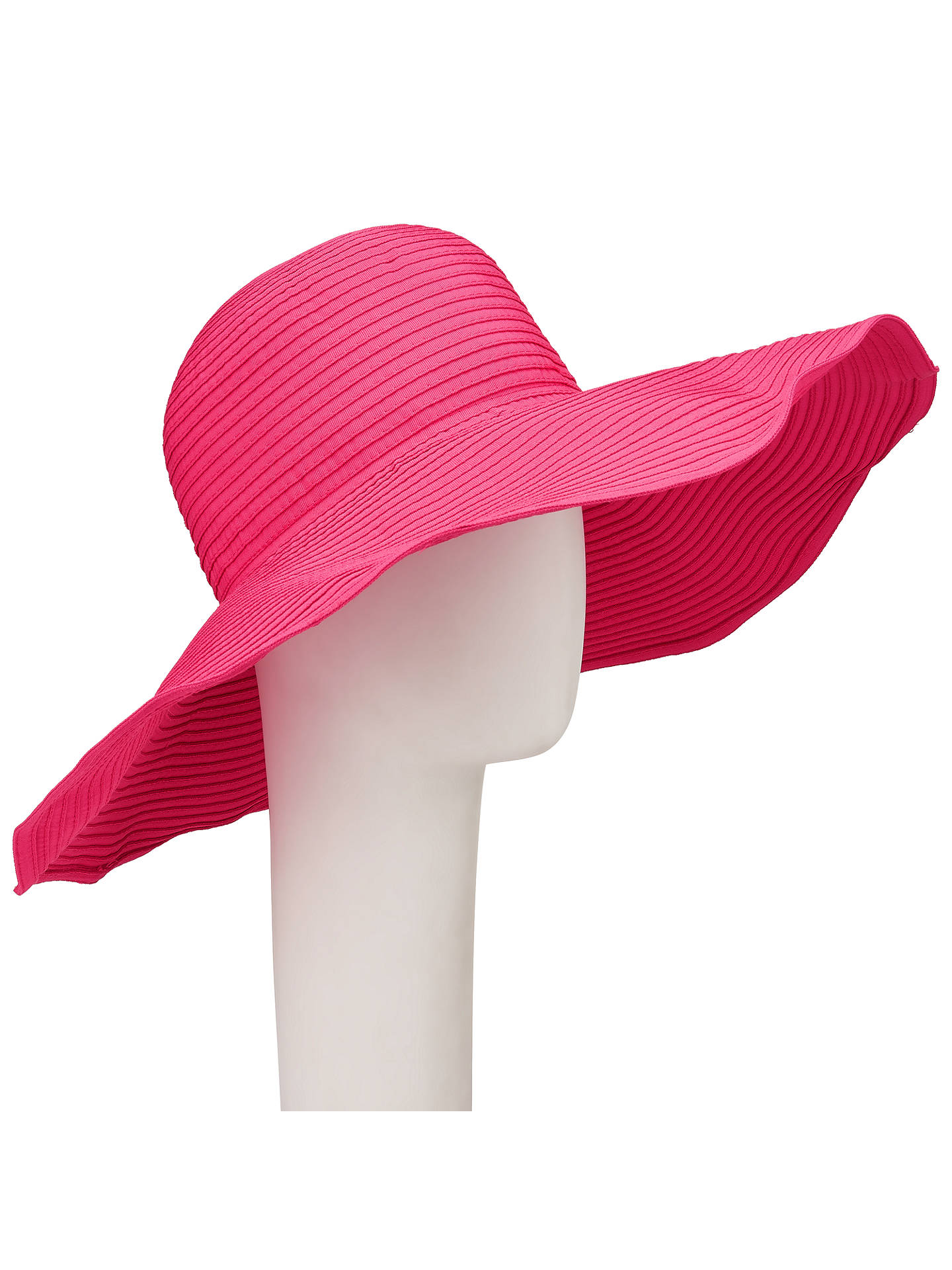 4669fb71 Buy John Lewis & Partners Packable Floppy Hat, Candy Pink Online at  johnlewis. ...