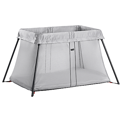 BabyBjörn Travel Cot Light, Silver