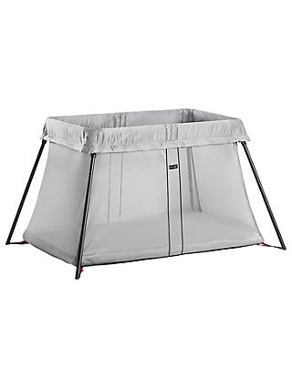 BabyBjörn Travel Cot, Silver
