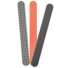 Buy Foam Nail Files, Set of 3 Online at johnlewis.com