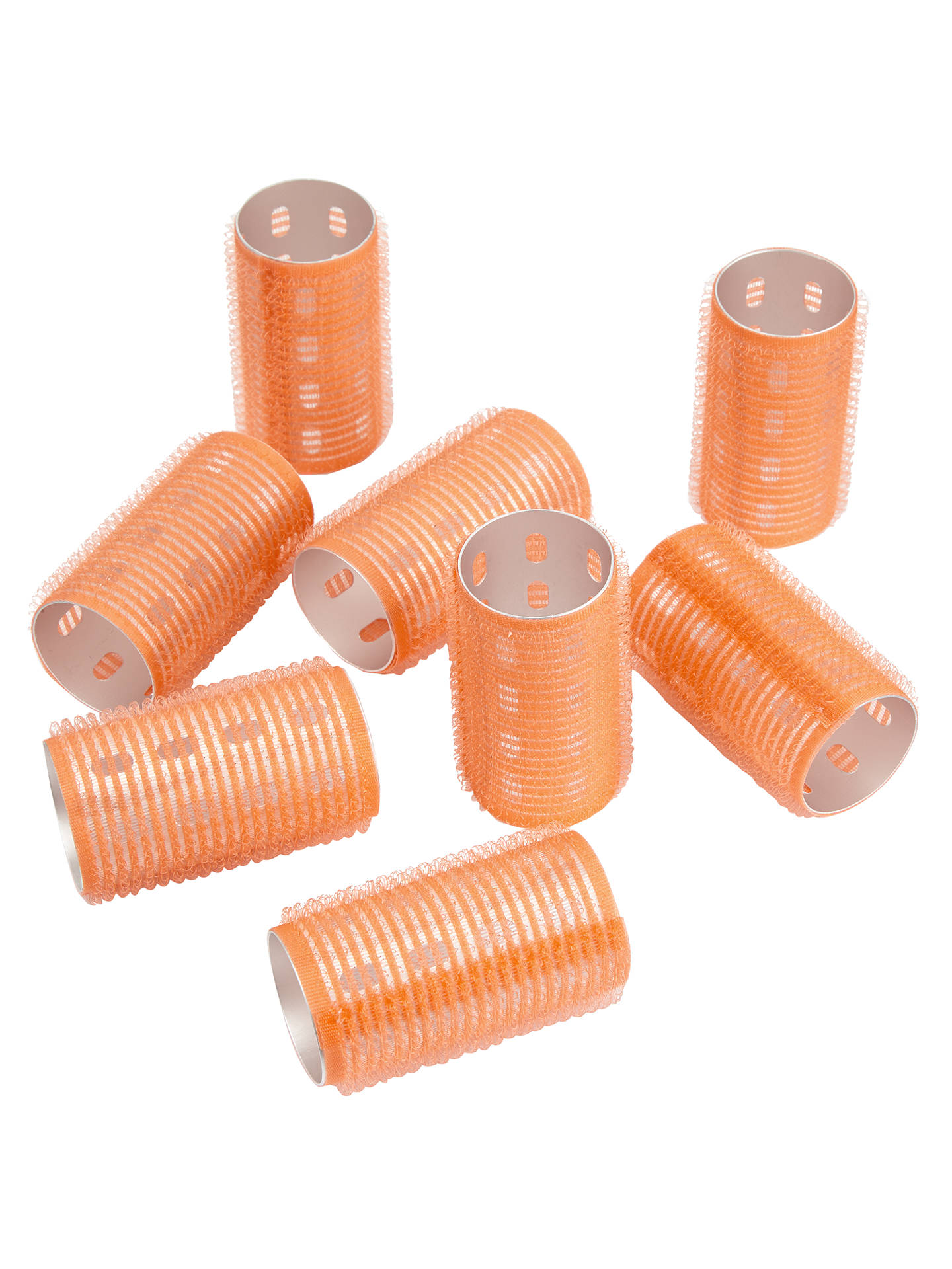 Medium Rip Tape Thermal Hair Rollers, 8 Pack at John Lewis